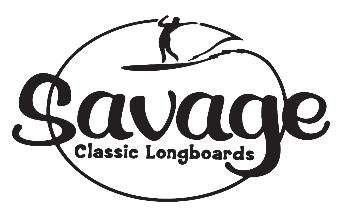 savage longboards logo